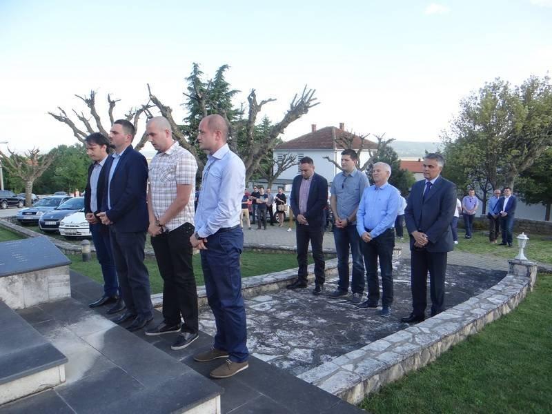 HDZ BiH: 24. obljetnica zaustavljanja tenkova JNA svečano je obilježena u Pologu