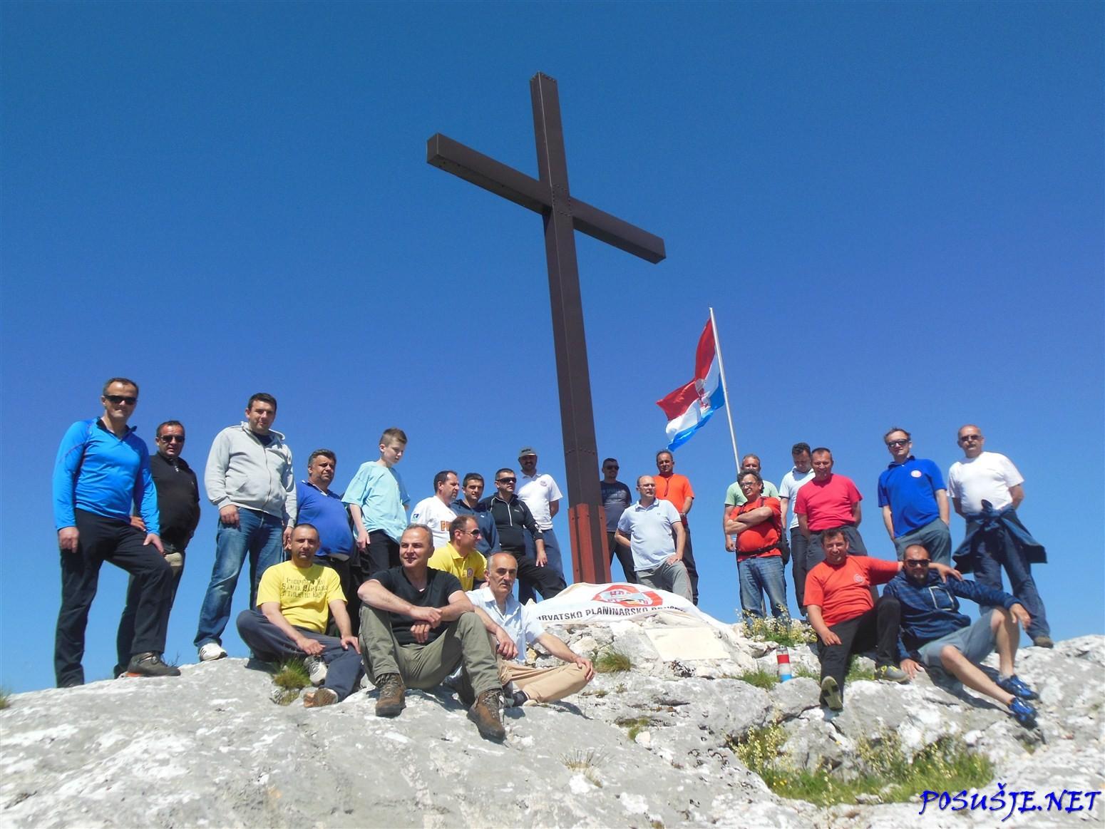 FOTO: Sedma obljetnica postavljanja križa na Orlovom kuku