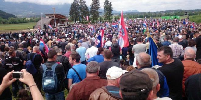 Precizni podaci austrijske policije: Na Bleiburgu je bilo točno 61 235 hodočasnika