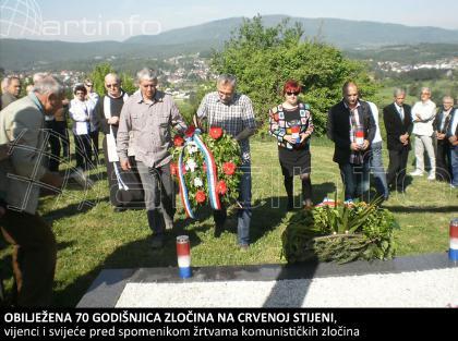 Kiseljak: Obilježena 70 godišnjica zločina na Crvenoj stijeni