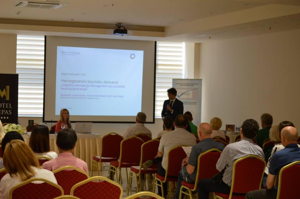 """Predstavljena studija """"Digitalna percepcija Hercegovine kao turističke destinacije/brenda"""""""