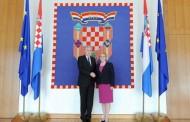 Čović i Grabar-Kitarović o političkom, sigurnosnom i gospodarskom stanju u BiH