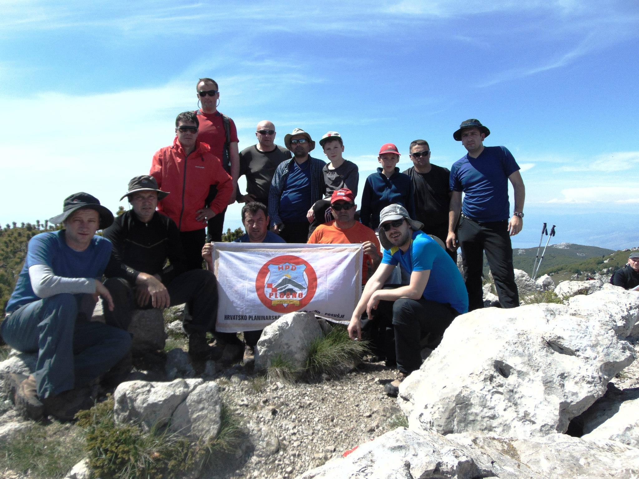 HPD Pločno u posjetu NP Sjeverni Velebit