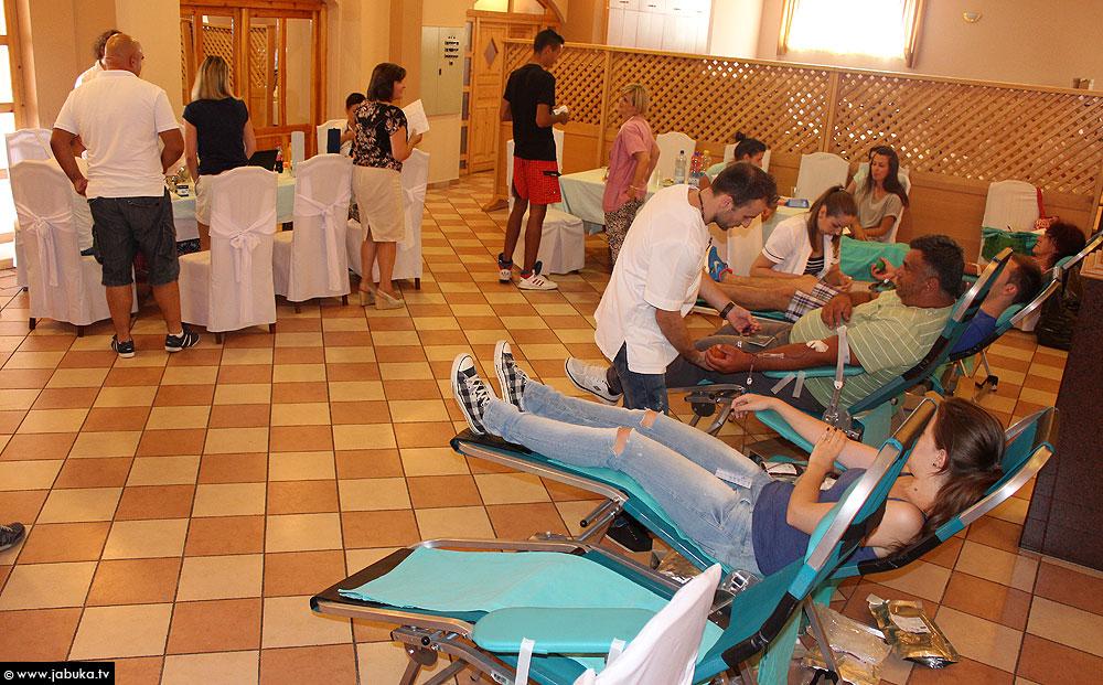 POSUŠJE: Dragovoljno darivanje krvi