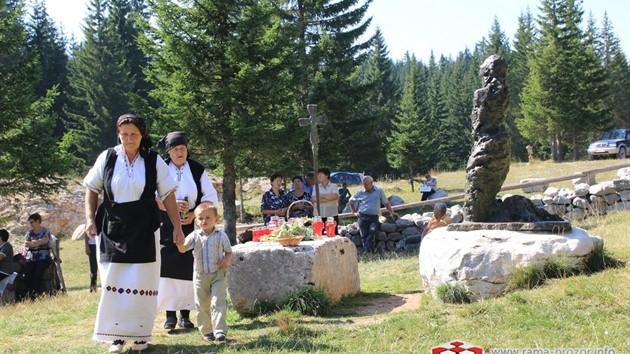 Na Vran planini služena misa za poginule duvandžije