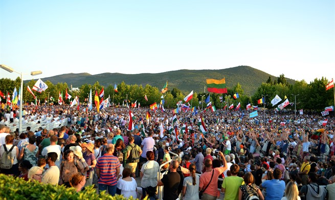 Mladifest u Međugorju okupio tisuće mladih iz 68 zemalja svijeta