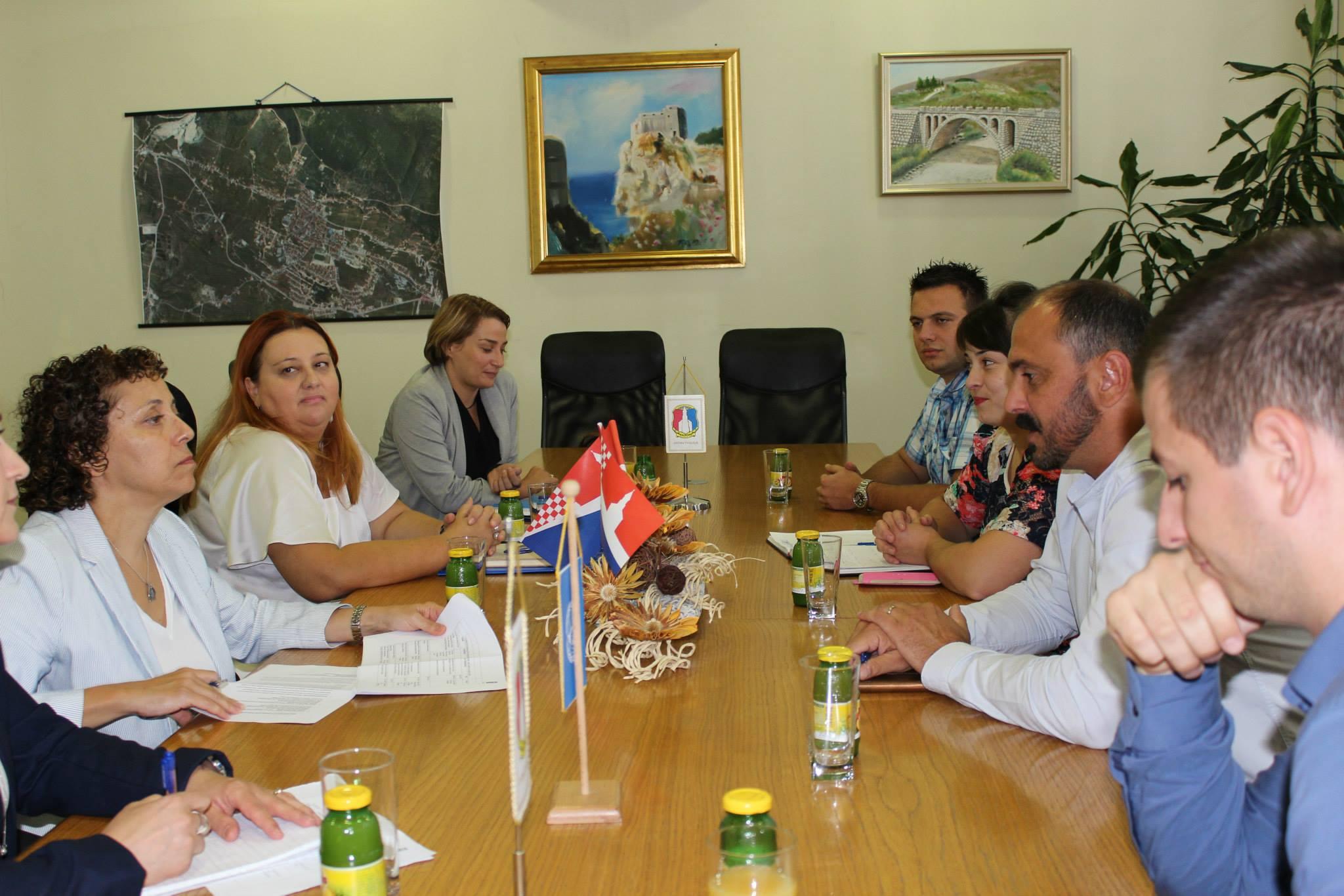 Posjet rezidentne predstavnice UN-a u BIH općini Posušje