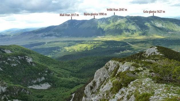 Vrijeme je za planinarenje: Vrh Veliki Vran Visina: 2074 mnv