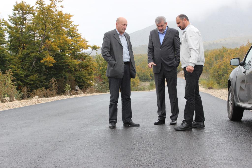 Radni obilazak OŠ A.B Bušića, regionalne ceste R419 i izgradnje planinarskog doma u Masnoj Luci