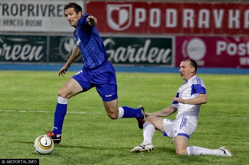 Josip Barišić strijelac u pobjedi Širokog nad Hajdukom