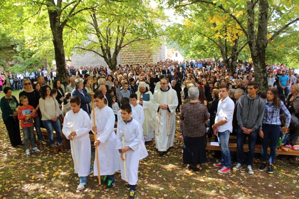 Obilježen blagdan sv. Franje zaštitnika župe Posuški Gradac
