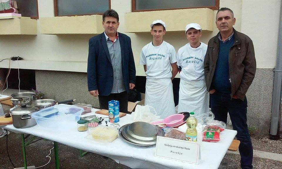 """Učenici Gimnazije i Srednje strukovne škole Posušje sudjelovali na kulinarskom natjecanju """"Masterchef"""" u Ljubuškom"""