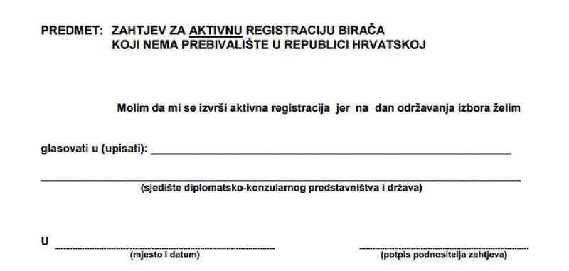 OO HDZ BIH POSUŠJE: Poziv na aktivnu registraciju birača