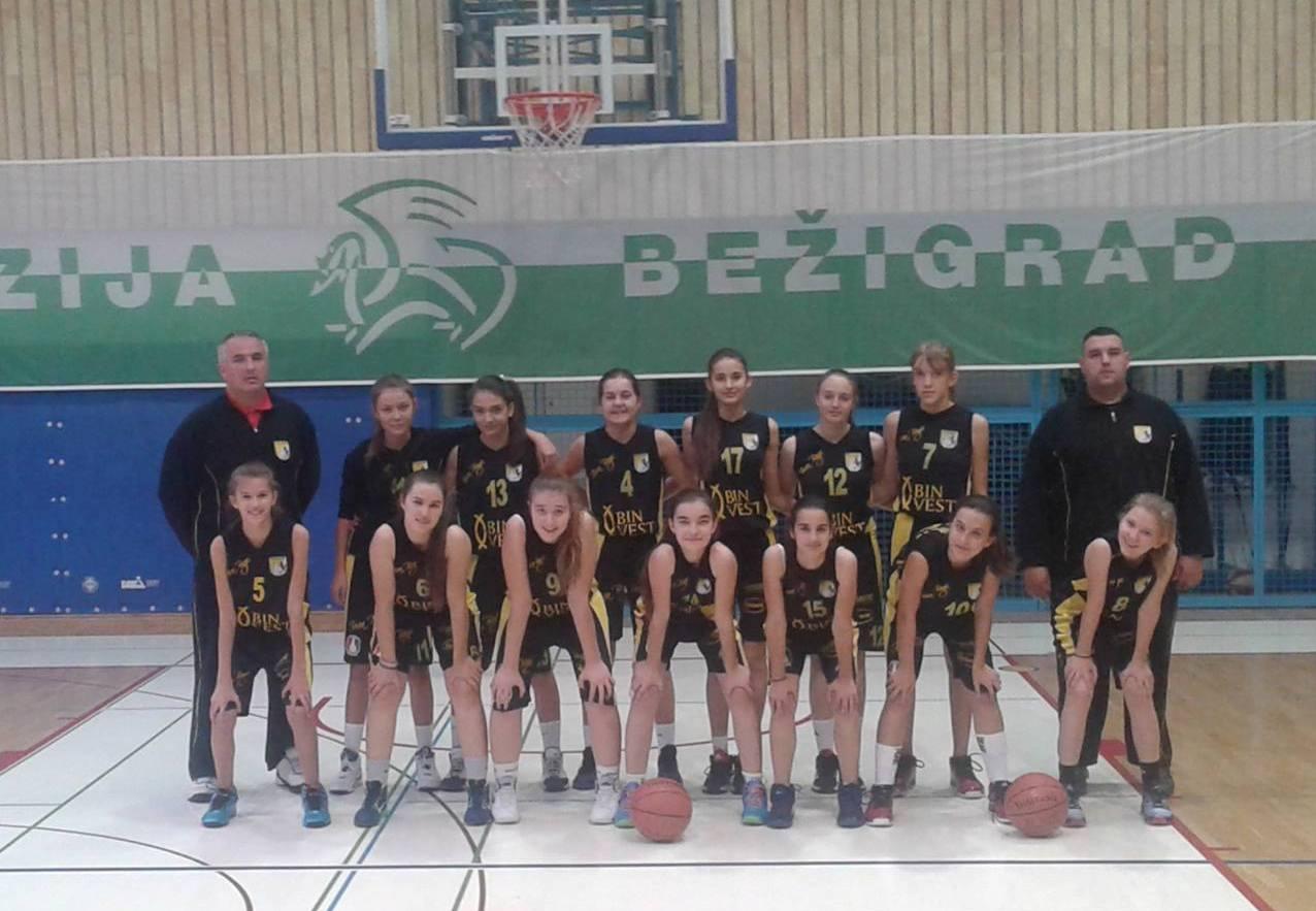 Predkadetkinje ŽKK Posušje započele s nastupom u BCAA regionalnoj ligi