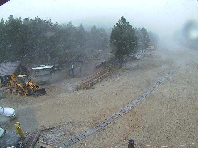 LIVE: Blidinje zabijelile prve pahulje snijega