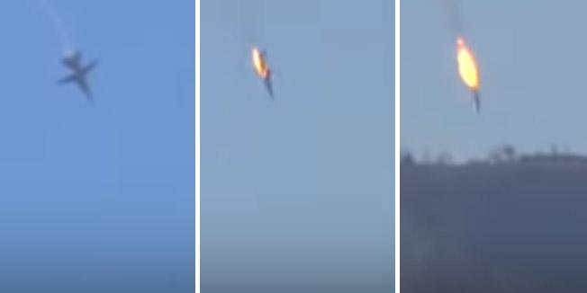 VIDEO: TURSKA VOJSKA NA SIRIJSKOJ GRANICI SRUŠILA RUSKI VOJNI AVION! Rusi: 'Nismo ugrozili turski zračni prostor! Letio je na 6000 metara'