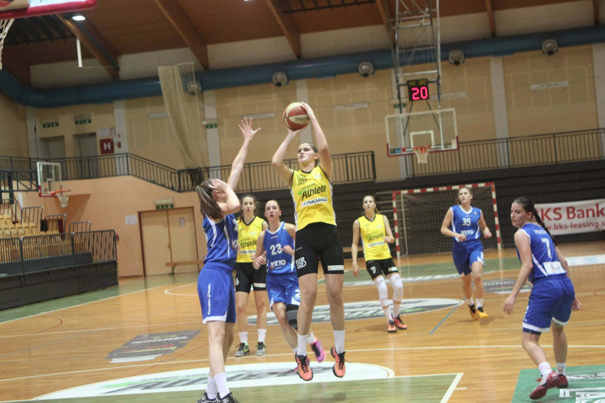Andrea Marić vodila Athlete Celje do pobjede