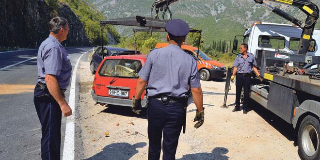 FBiH: U tri dana 202 prometne nesreće, dvoje poginulih