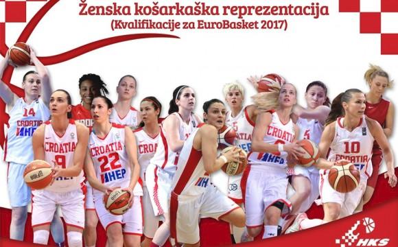 Hrvatske košarkašice porazom otvorile kvalifikacije