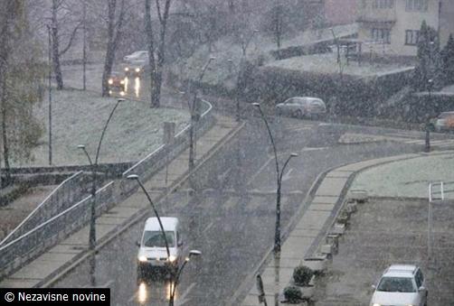 U BiH pao prvi ovogodišnji snijeg