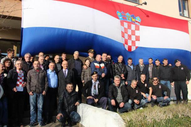"U Kninu osnovana podružnica udruge pripadnika 1. gardijske brigade HVO-a ""Ante Bruno Bušić"""