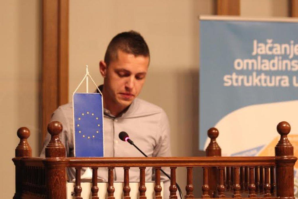 Mate Lončar predsjednik Federalnog vijeća mladih