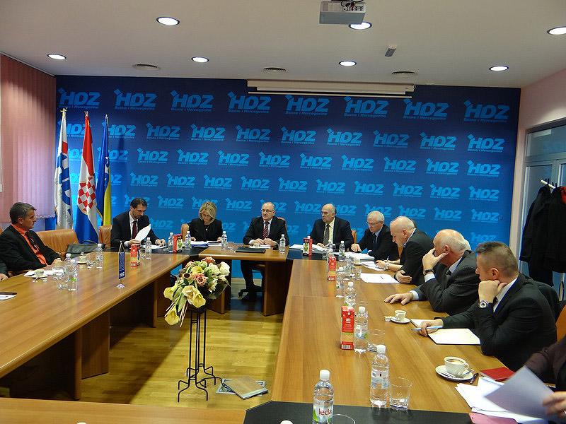 Održana peta sjednica Predsjedništva Hrvatskog narodnog sabora