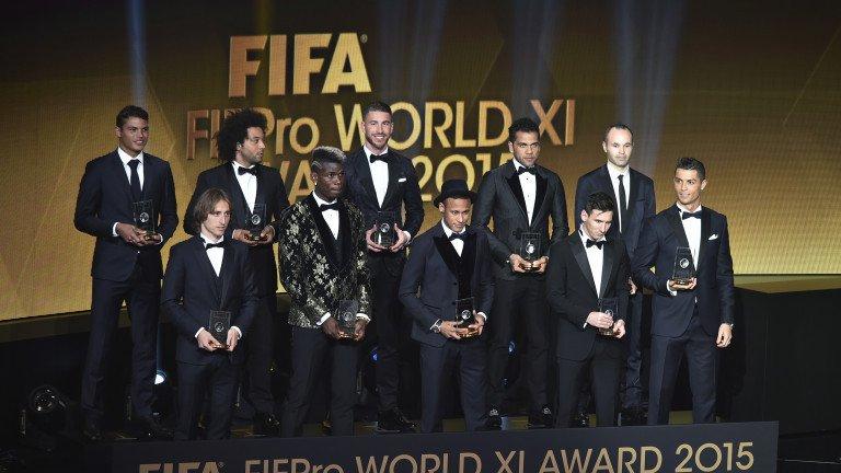 """FIFA: Messi dobitnik """"Zlatne lopte"""", Modrić u momčadi godine"""