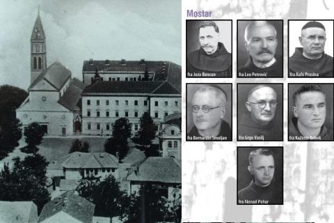 Kako je ubijeno sedam fratara u Mostaru 14. veljače 1945.