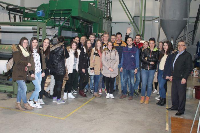 UGP: Učenici Srednje strukovne škole Tomislavgrad na praksi u Posušju