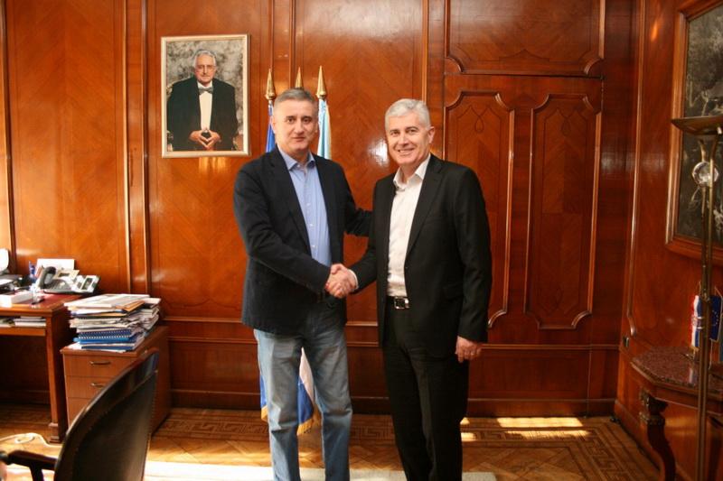 Čović i Karamarko razgovarali o položaju Hrvata u BiH