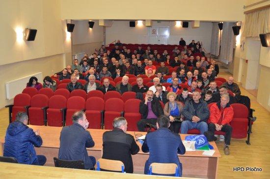 Održana 14. redovna izvještajna i 5. izborna skupština HPD-a Pločno