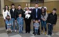 U obitelji Begić kršteno deveto dijete