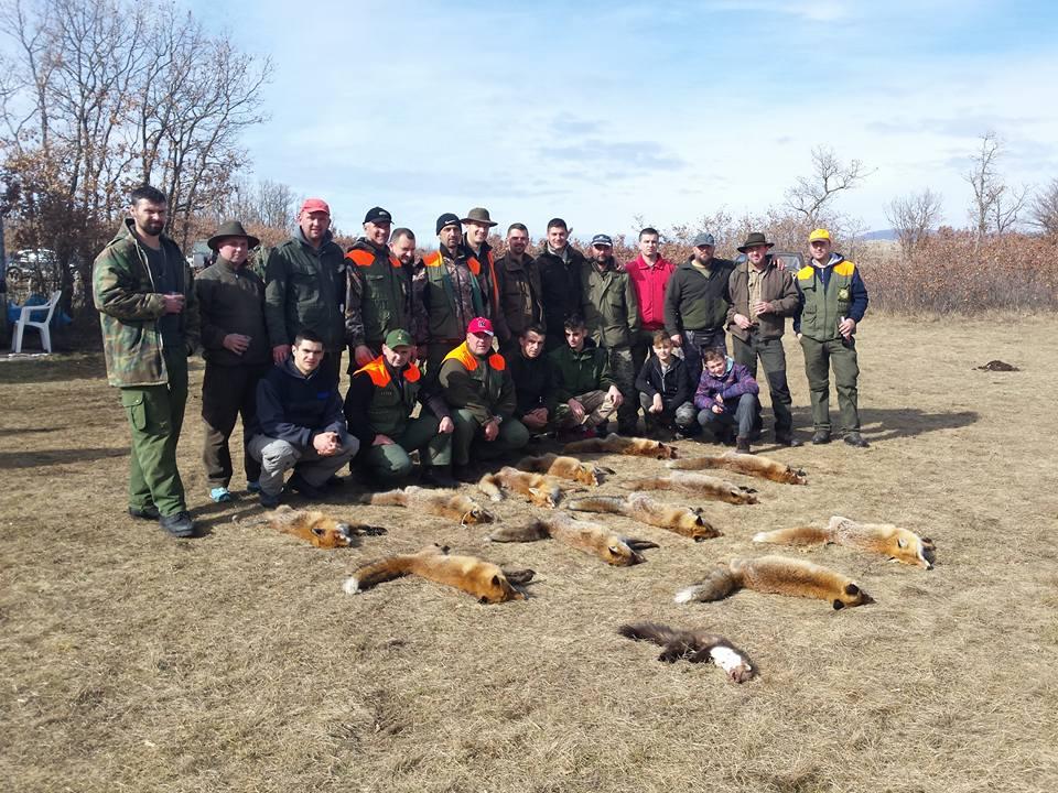 FOTO: Hercegovački lovci organizirali hajku u Tomislavgradu