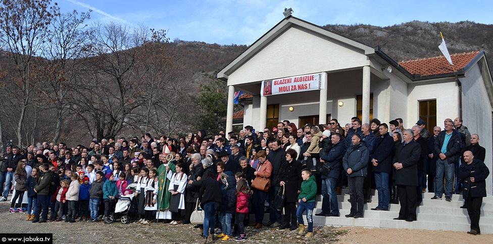 Blagoslovljena crkva Blaženog Alojzija Stepinca u Podvraniću