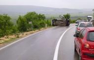Zbog prometne nesreće zatvorena cesta između Širokog Brijega i Mostar