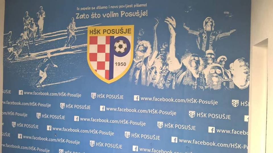 MOKRI DOLAC: Postavljeni reklamni panoi i logo HŠK Posušje