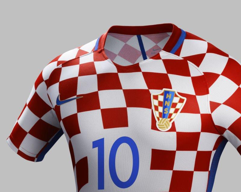 Nike predstavio hrvatski dres za Euro 2016: Modrić i Kovačić oduševljeni