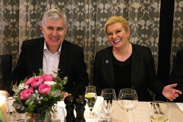 Dragan Čović i Kolinda Grabar Kitarović pokrovitelji III. Festivala klapske pisme u Posušju