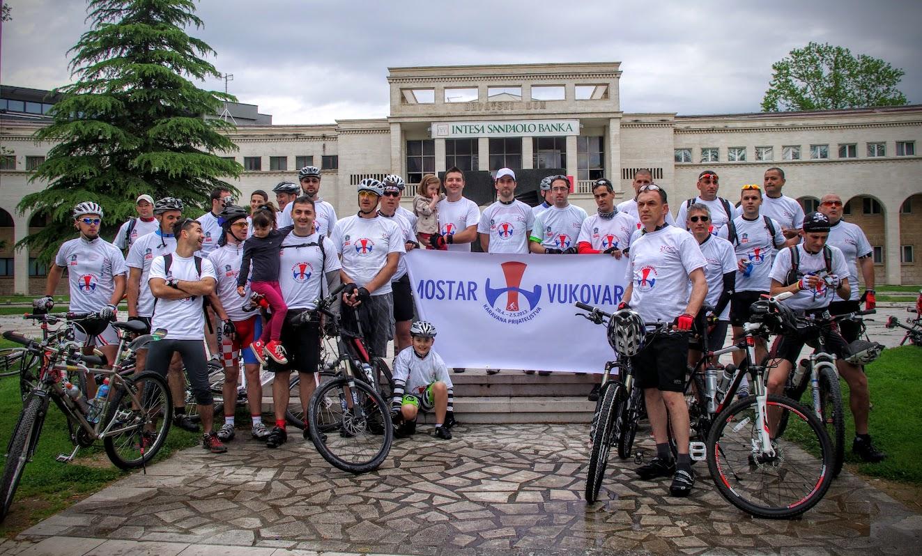 Počele prijave za Četvrtu biciklističku karavanu prijateljstva Mostar – Vukovar