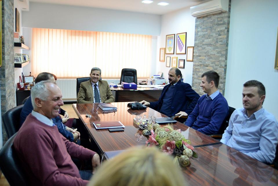 Načelnik općine Posušje u radnoj posjeti Općini Žepče