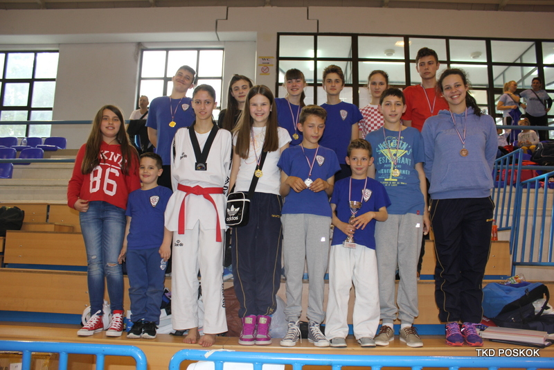 Poskoci uspješni na turnirima u Zagrebu i Imotskom