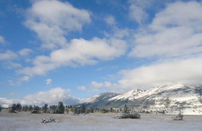 Na Blidinju padao snijeg, a u Brotnju krupa
