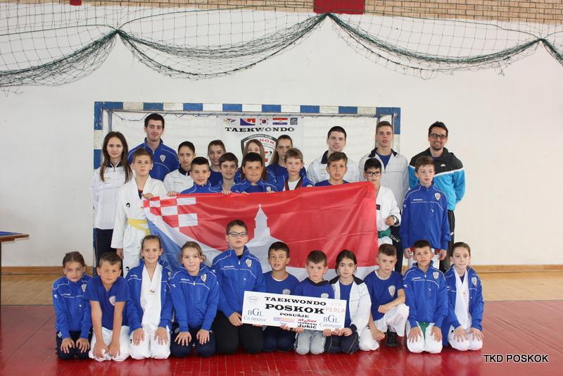 "Posuški mlađi kadeti najuspješniji na 10. ""Tomislav openu"" 2016."
