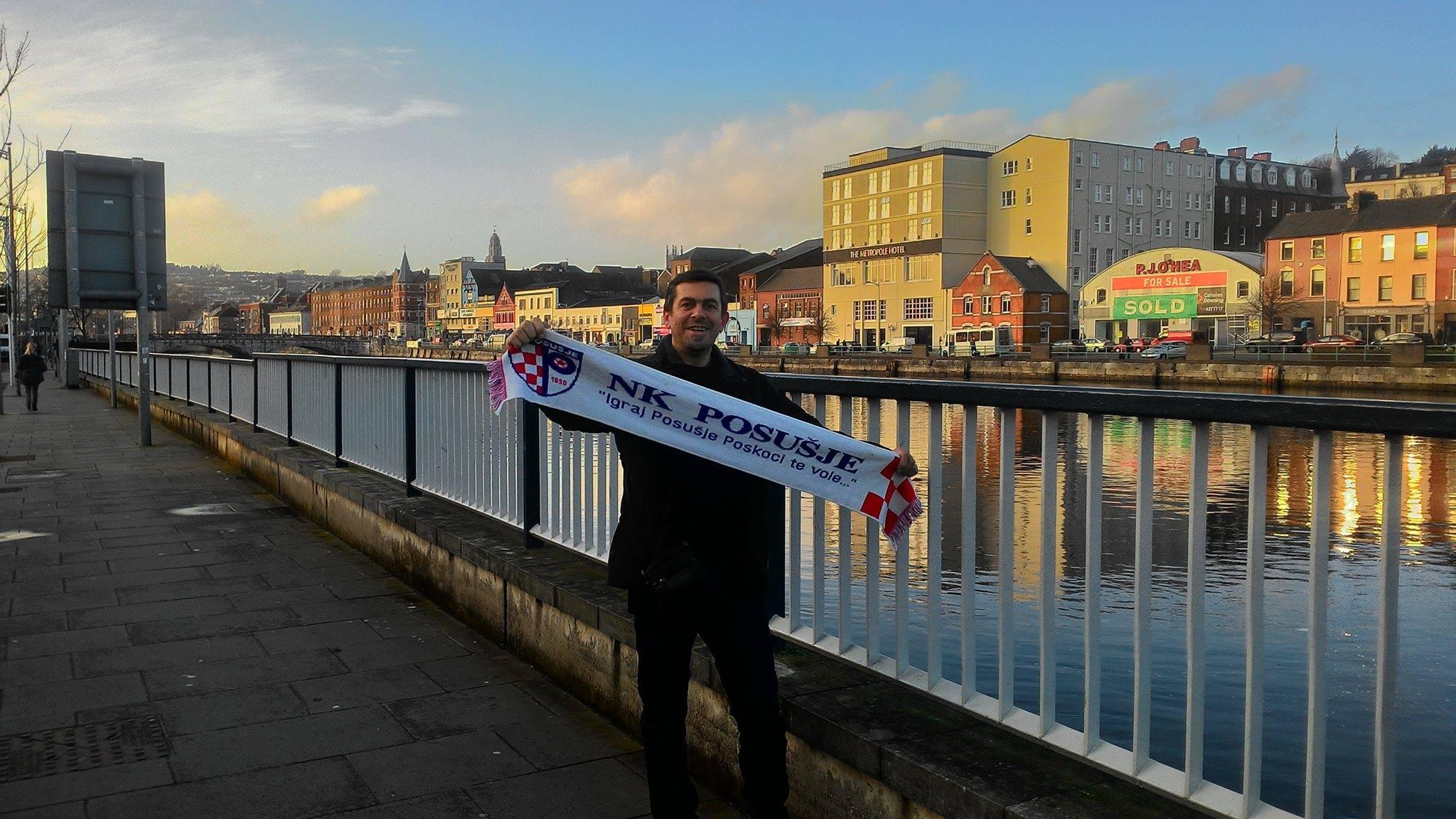 Pozdrav i potpora nogometnom klubu i navijačima Posušja iz Irske