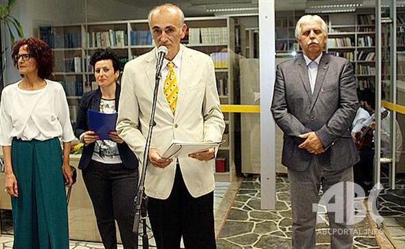 U Širokom Brijegu otvorena izložba slika i skulptura Anđelke Hrkać