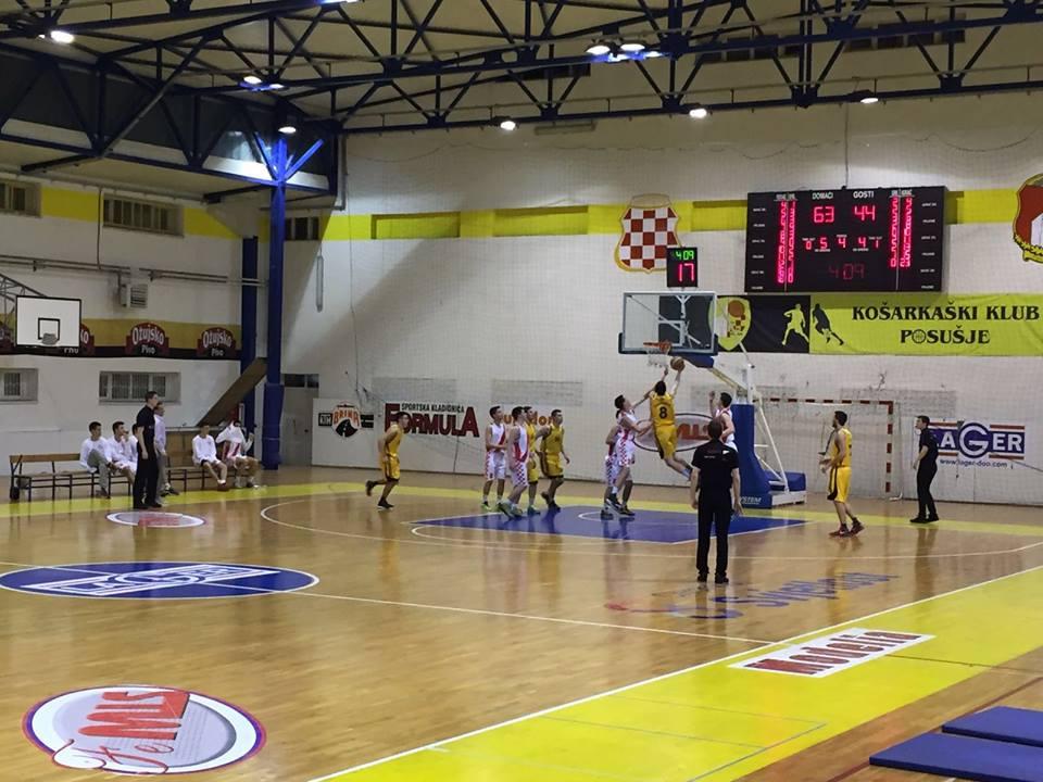 Košarkaši u polufinalu protiv Gruda