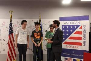 """Regionalno natjecanje """"Spelling Bee"""" – bravo za Kristijana i Luku!"""