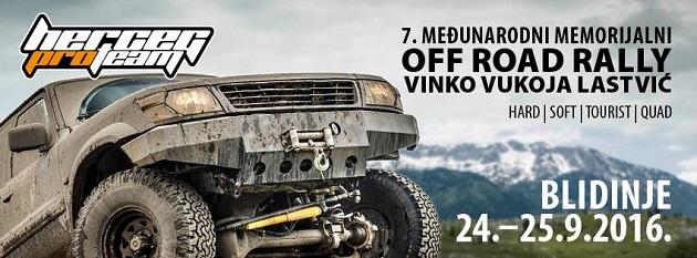 """Službeno započele pripreme za VII. Memorijalni Off Road Rally """"Vinko Vukoja – Lastvić"""