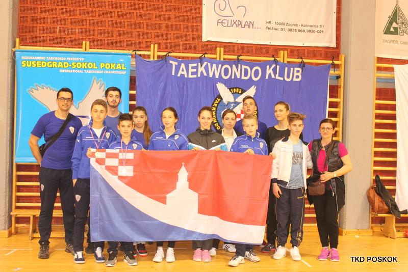 Četiri medalje za Poskoke u Zagrebu!